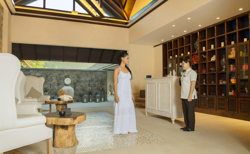 Отель The H Resort Beau Vallon Beach - спа-центр