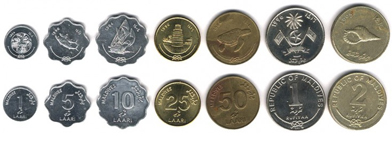 Валюта. Денежная единица на Мальдивах.