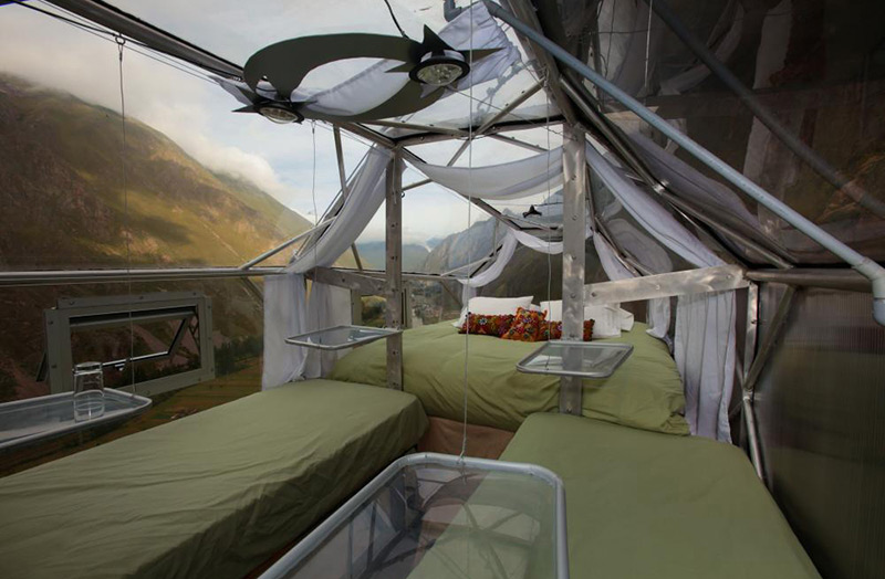 Отель Skylodge Adventure Suites