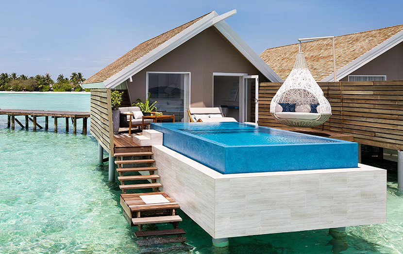 Lux South Ari Atoll Мальдивы Romantic Pool Water Villas