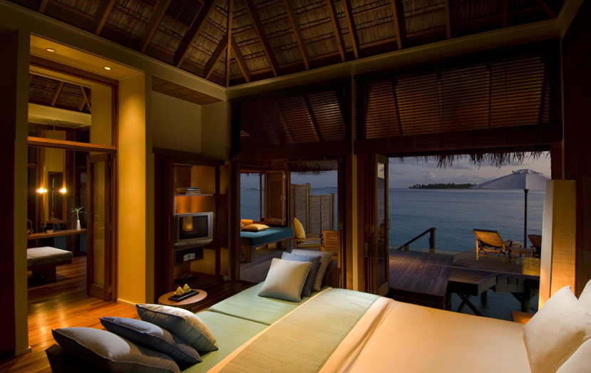 Отель Conrad Maldives Rangali Island Retreat Water Villa