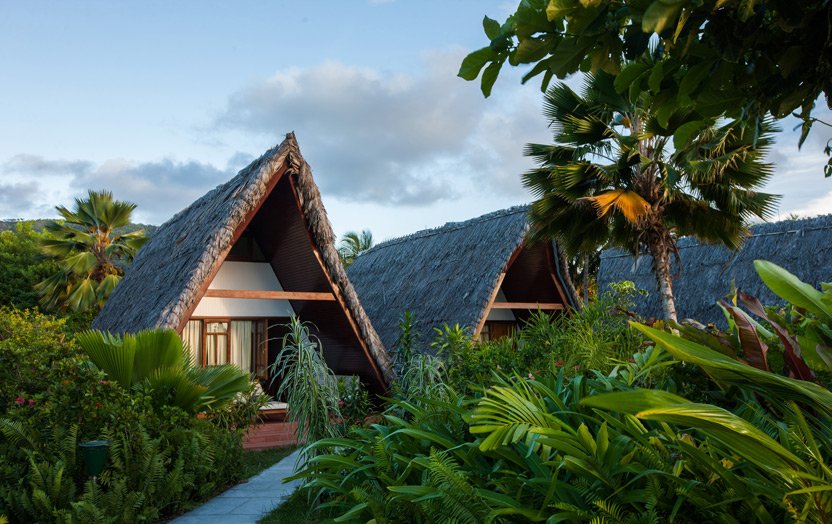 La Digue Island Lodge, отель, шале,