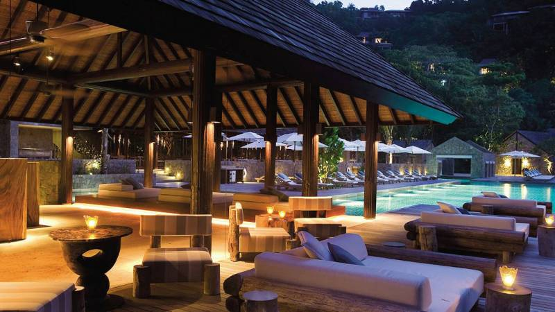 Four Seasons Resort Seychelles, отель, ресторан Kannel