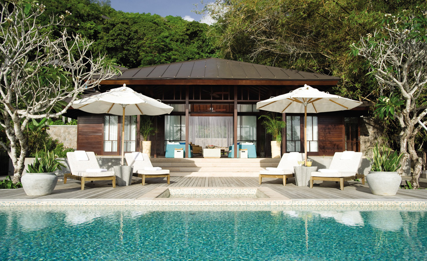 Four Seasons Resort Seychelles, отель, вилла, Two-Bedroom Presidential Suite,