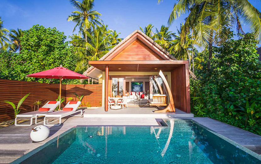Per Aquum Niyama Maldives, Beach Studio with Pool