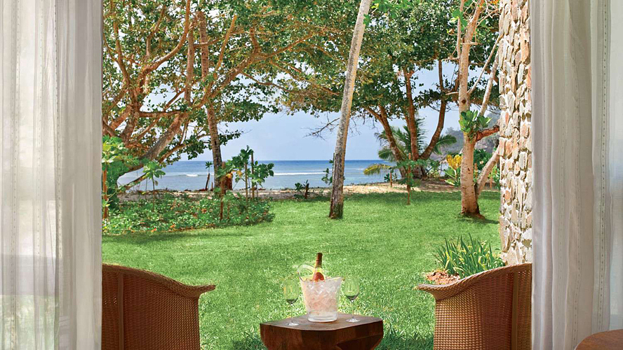 Kempinski Seychelles Resort Beachside Room