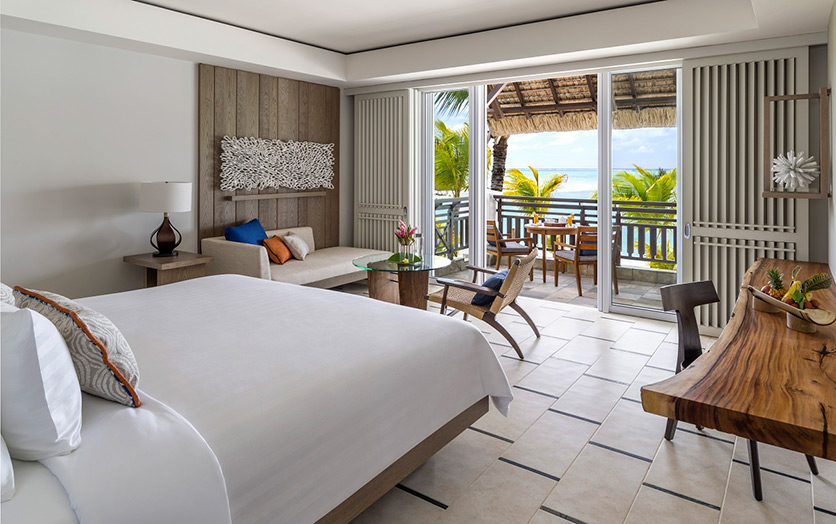 Отель Shangri-La's Le Touessrok Resort & Spa. Номер Hibiscus Junior Suite Ocean View.