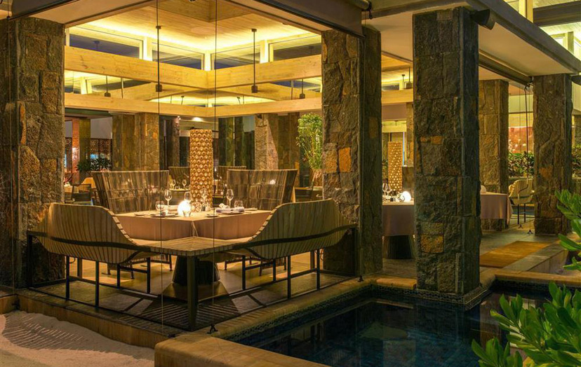 Отель The Westin Turtle Bay Resort & Spa Mauritius. Ресторан Fusion.