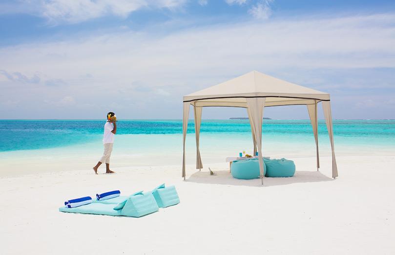 Отдых на пляже Мальдивы