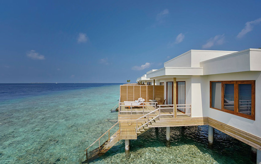 Отель Dhigali Maldives Water Villas