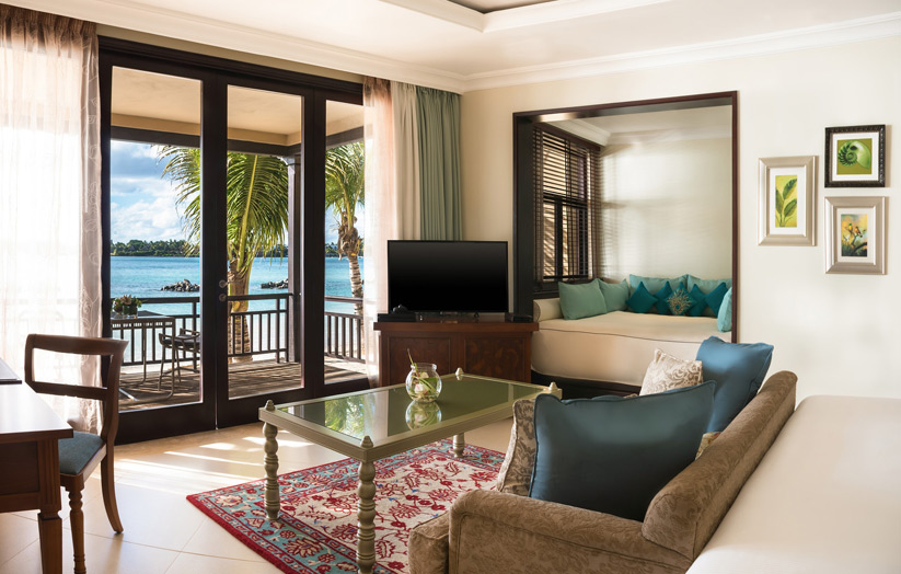 Отель The Westin Turtle Bay Resort & Spa Mauritius. Номер категории Ocean Deluxe Family Room.
