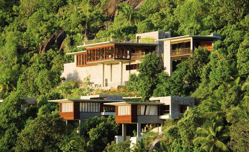Four Seasons Resort Seychelles, отель, спа