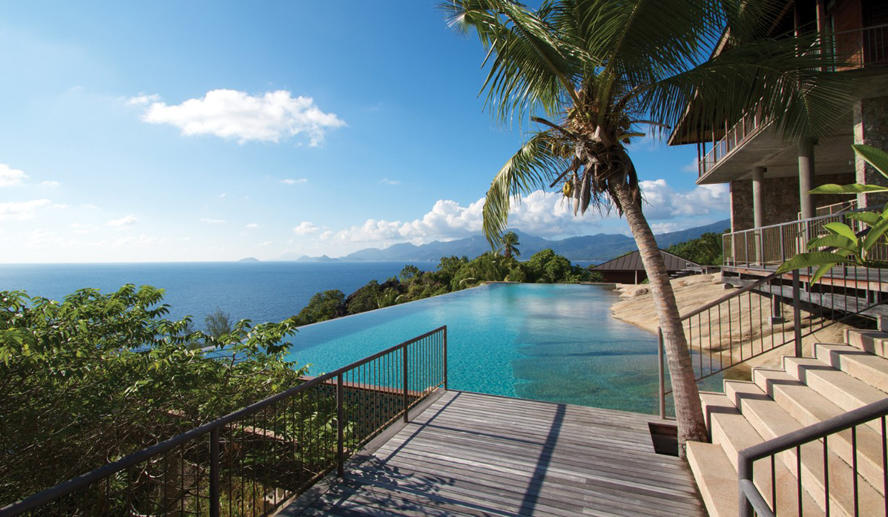Four Seasons Resort Seychelles, отель, вилла, Four-Bedroom Residence Villa