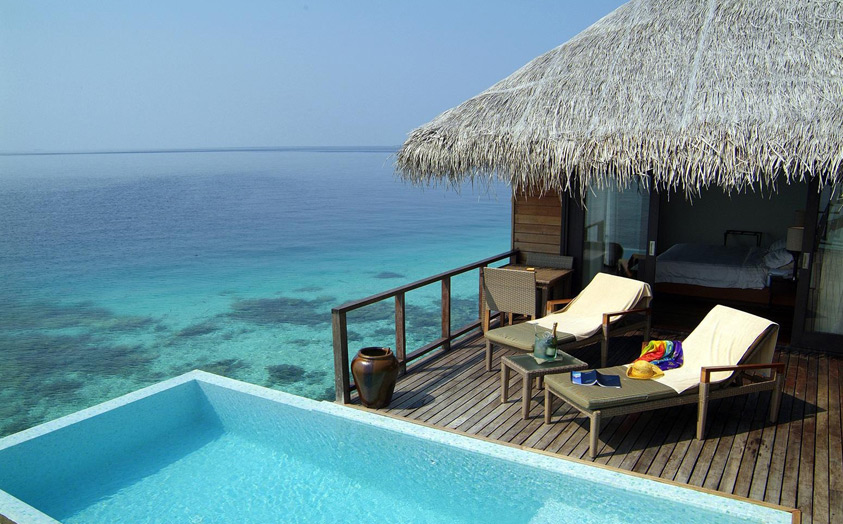 Coco Bodu Hithi, отель, виллы, Escape Water Villa,