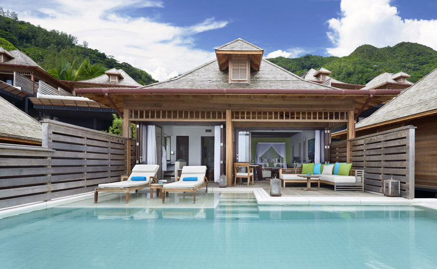 Отель Hilton Seychelles Northolme Resort. Вилла категории Grand Ocean View Pool Villa.