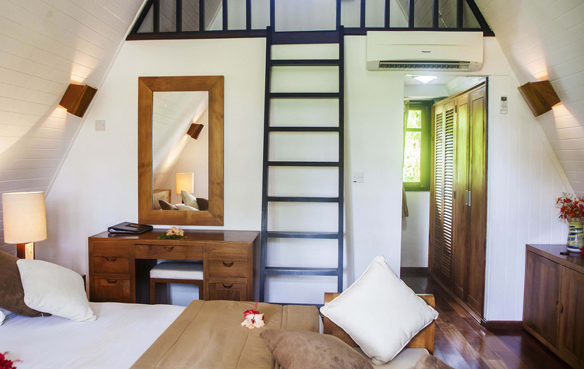 La Digue Island Lodge, отель, номер,