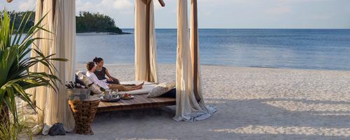 Медовый месяц, скидка для молодоженов на Маврикии - Shangri-La's Le Touessrok