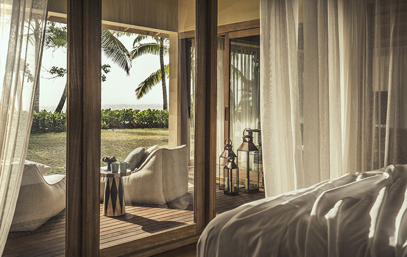 Beach Suite вилла в отеле Four Seasons Desroches Island