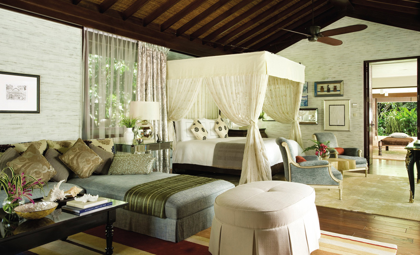 Four Seasons Resort Seychelles, отель, вилла, интерьер,