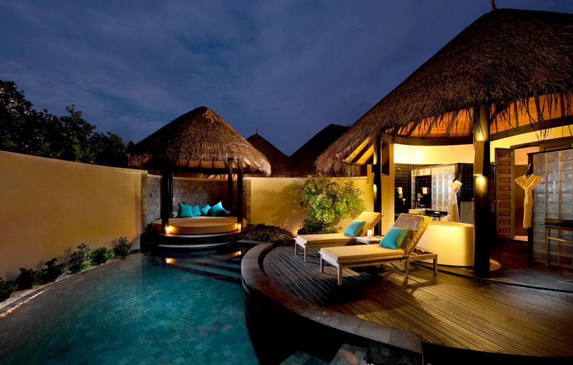 The Sun Siyam Iru Fushi Pool Beach Villa