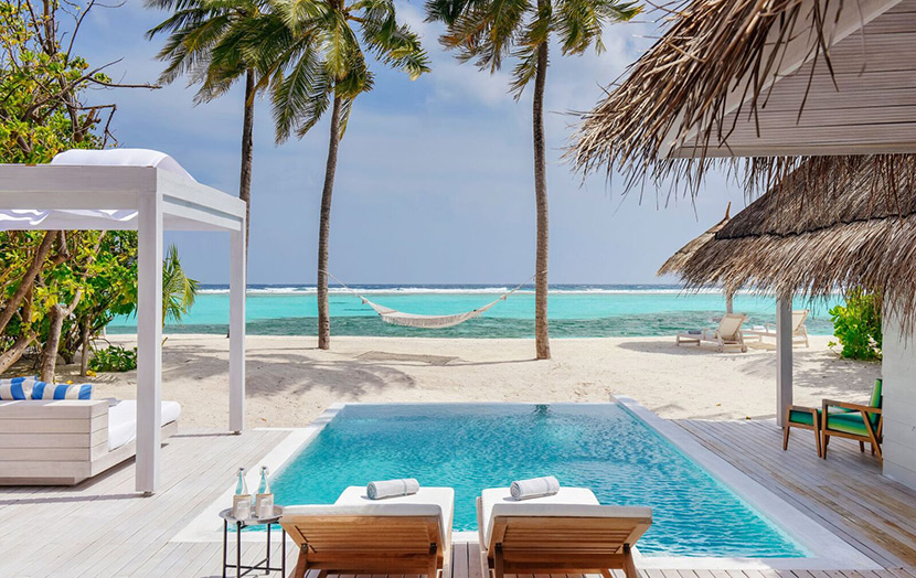 Kanuhura Maldives Retreat Beach Pool Villa