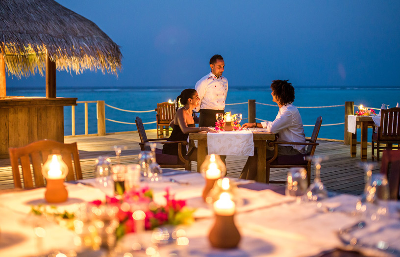 Отель Palm Beach Resort & Spa Maldives Ресторан