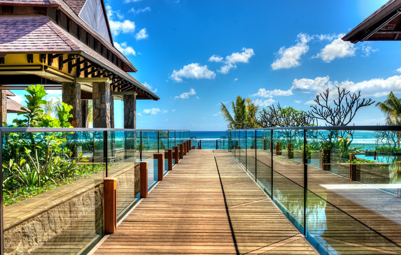 Отель The Westin Turtle Bay Resort & Spa Mauritius. Вид на океан.
