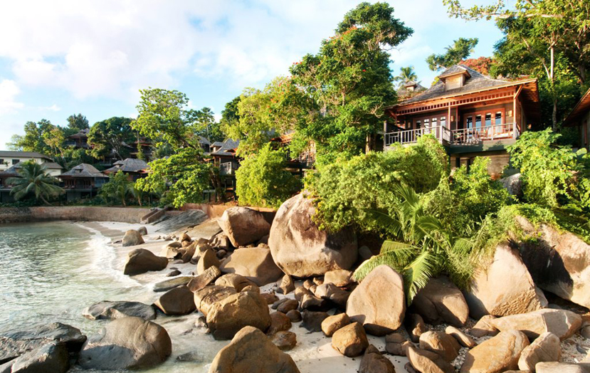 Отель Hilton Seychelles Northolme Resort. Вилла категории King Oceanfront Villa.