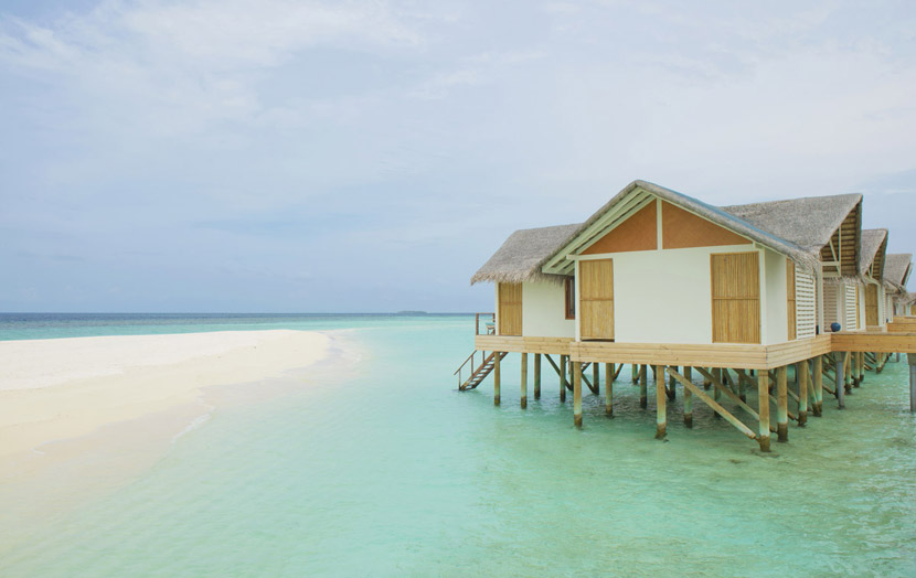Отель Loama Resort Maldives at Maamigili - водные виллы.