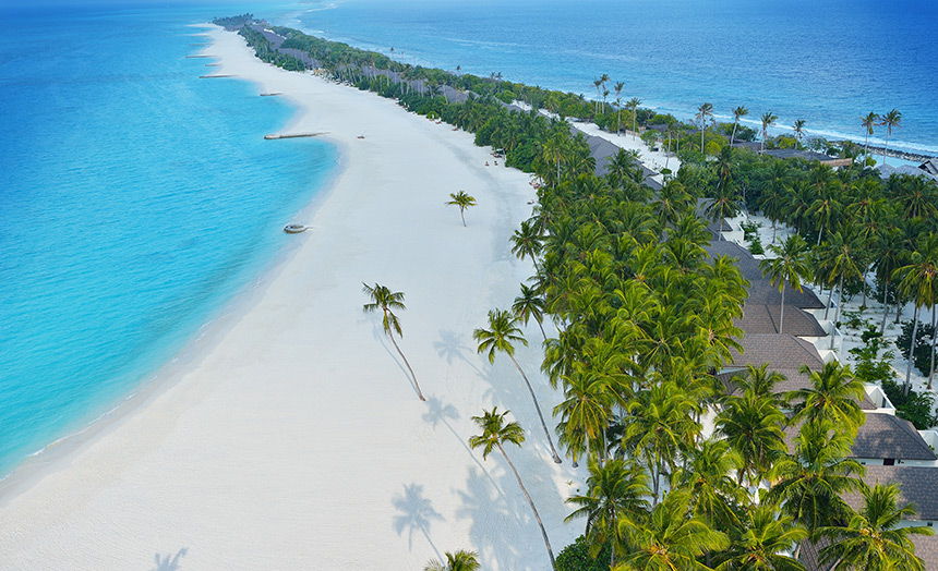 Пляж отеля Atmosphere Kanifushi
