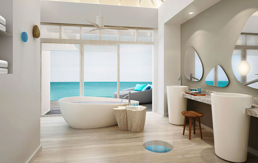 Lux South Ari Atoll Мальдивы Water Villa