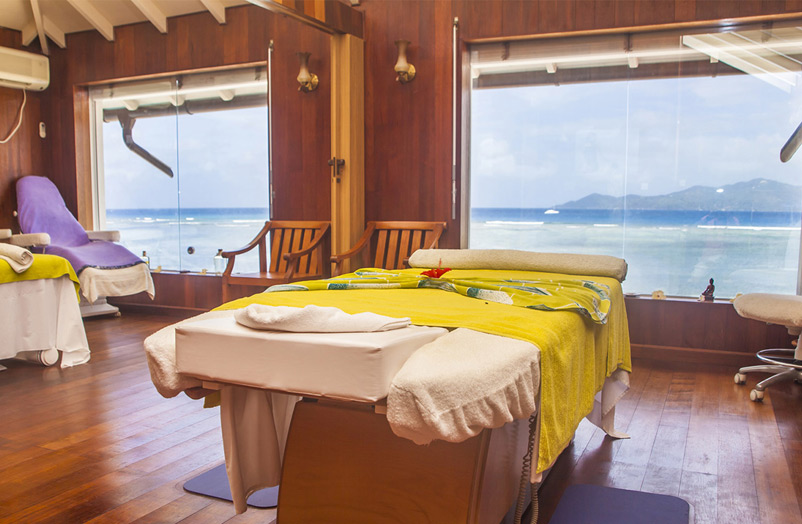 отель La Digue Island Lodge спа