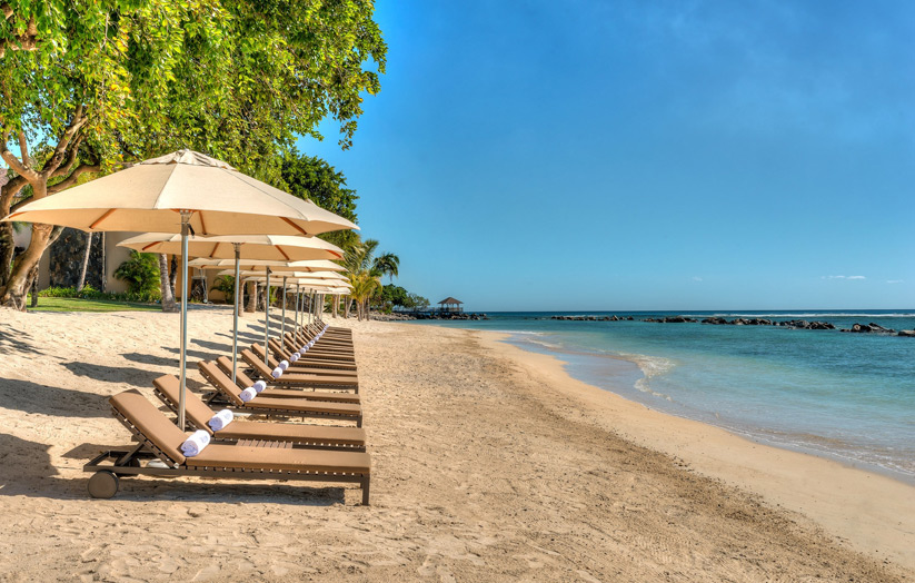Отель The Westin Turtle Bay Resort & Spa Mauritius. Пляж.