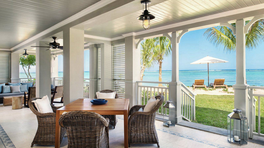 Отель The St. Regis Mauritius Resort - Beachfront St. Regis Grand Suite