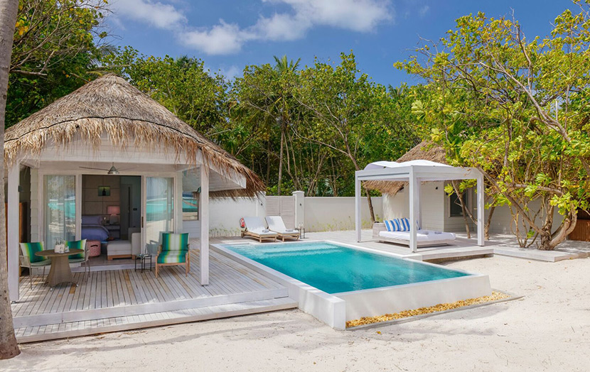 Kanuhura Maldives Retreat Grand Beach Pool Villa