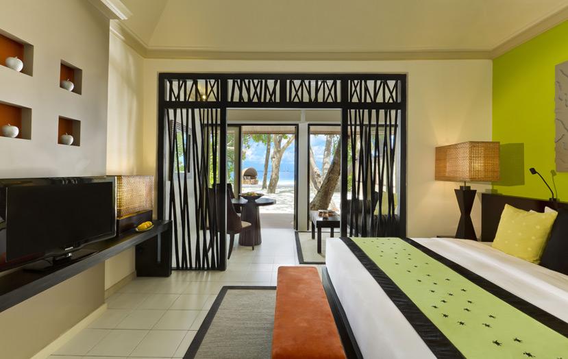 Вилла на пляже, отель Angsana Ihuru