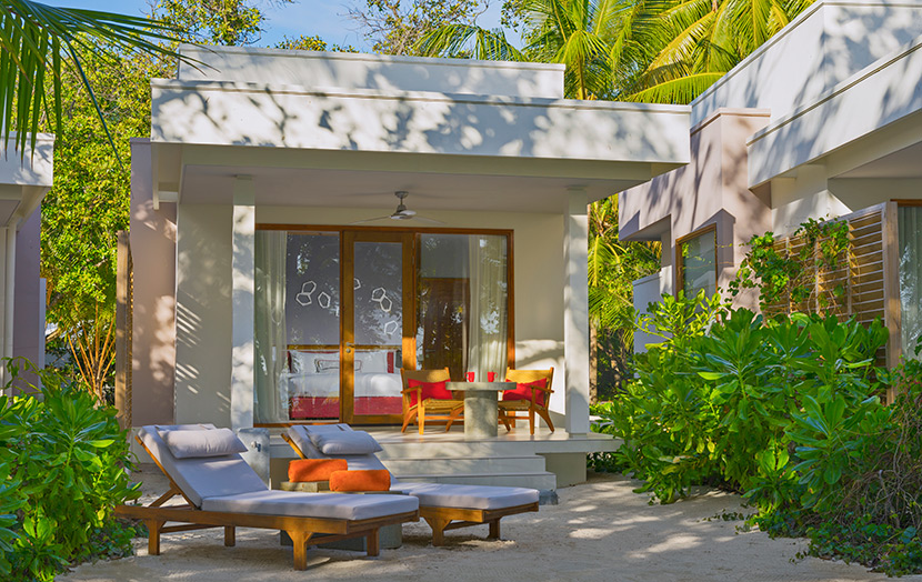 Отель Dhigali Maldives Beach Bungalows