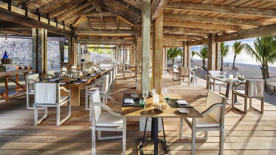 Отель The St. Regis Mauritius Resort - ресторан The Boathouse Bar & Grill